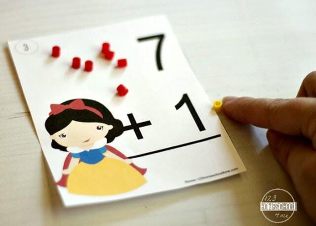 Disney Princess Flashcards