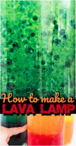 DIY Lava Lamp - super easy way to make your own lava lamp with simple things you have around your house. This homemade lava lamp is such a fun science project for kids of all ages to sneak in some summer learning. This science experiment is for toddlers, preschoolers, pre k, kindergarten, first grade, 2nd grade, 3rd grade, and kids of all ages at home, homeschool, summer camps, classroom, etc.