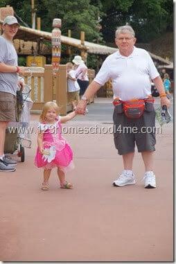 Tips for Grandparents at Disney World