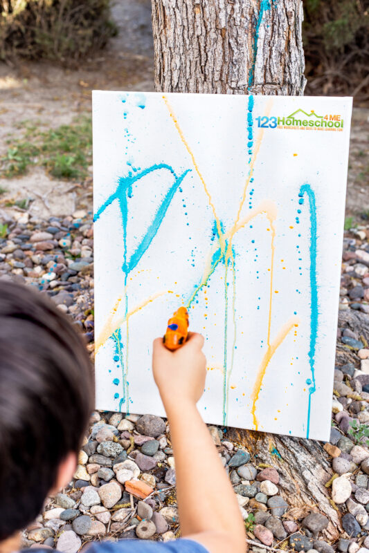 Summer Painting for kids