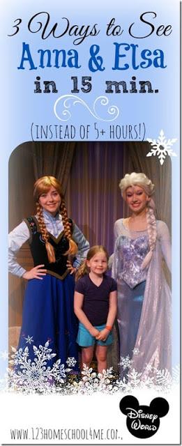Meet Elsa and Anna in Charming Arendelle instead of waiting 5 hours! #frozen #meetfrozen #disney #disneyworld #disneyworldtips