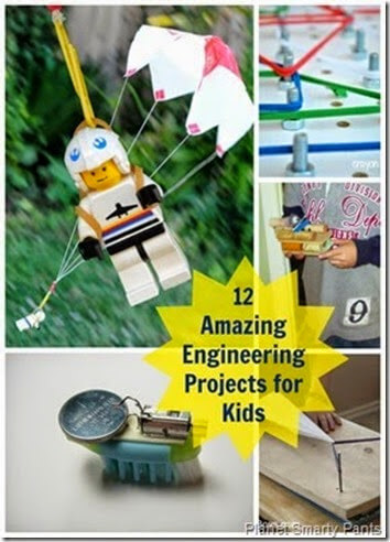 12 Amazing Engineering Projects for Kids by Planet Smarty Pants