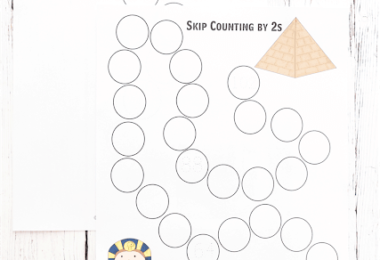 FREE Skip Counting Path Worksheets