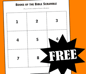 Books of the Bible Scramble Game
