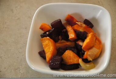 Pretty & Sweet Beet Side Dish Recipe