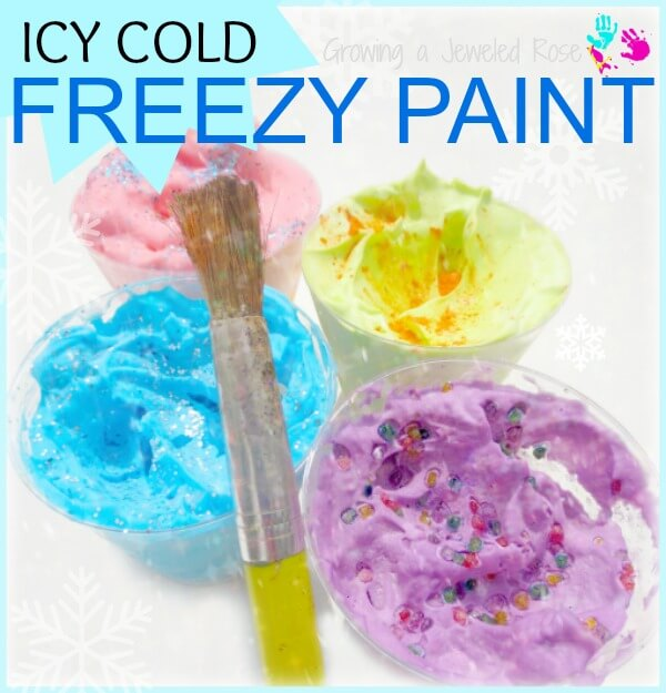 Freezy paints play recipe