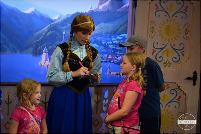 how to meet anna and elsa at Disney World
