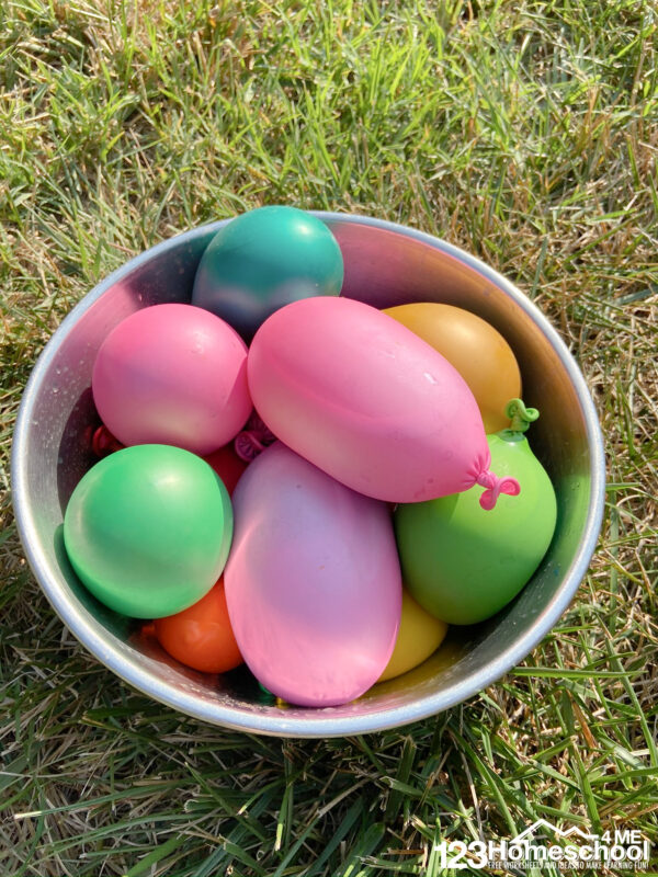 paint water balloons