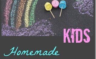 One of our favorite summer activities for kids is drawing with chalk. This time we decided to make our own chalk. It was so easy with superior results I decided to show you how to make chalk.