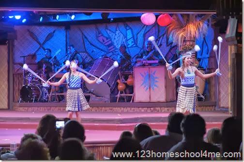 Disney's Polynesian Spirit of Aloha Dinner Show Dancers