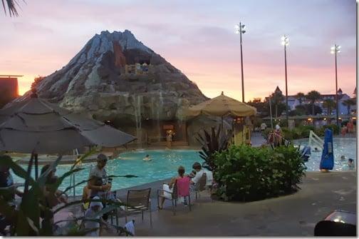 See the Magic Kingdom Wishes Firewords form teh Polynesian Resort