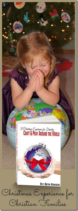 Christmas Activities for Christian Families - Craft and Pray Around the World #Christmas #kidsactivities #homeschooling