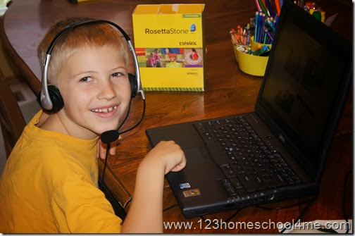 Teach a 2nd Language in your Homeschool with Rosetta Stone