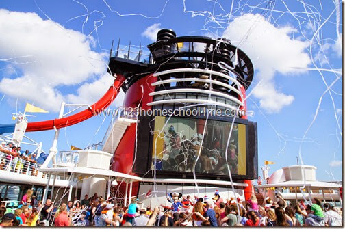 Disney Cruise Lines Amazing Deck Parties