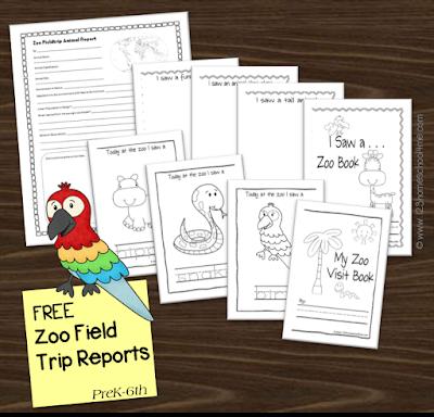 Zoo Field Trip Reports