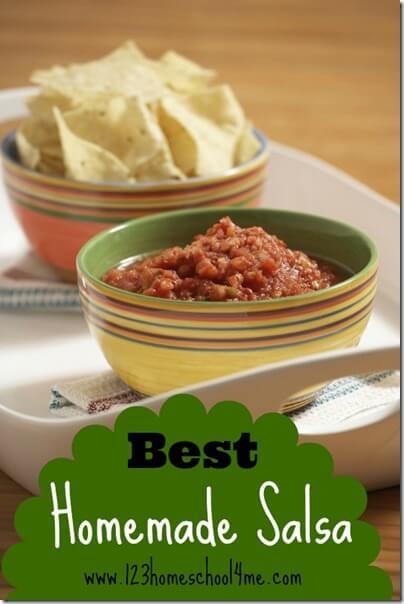 best homemade salsa recipe #recipes #salsa