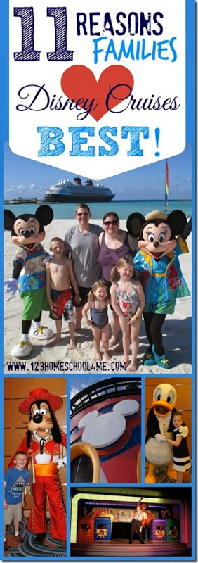 Disney! 11 Reasons Families Love Disney Cruises BEST #disney #disneycruise