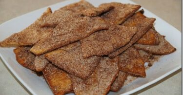 Cinnamon Sugar Tortilla Chips Recipe