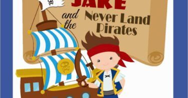 Jake and the Neverland Pirates Worksheets