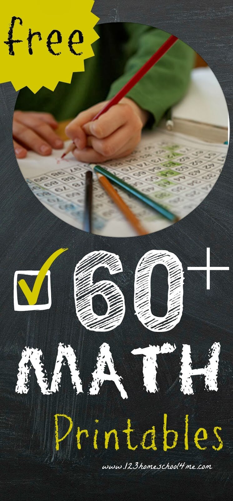 Free Math Worksheets for Homeschoolers