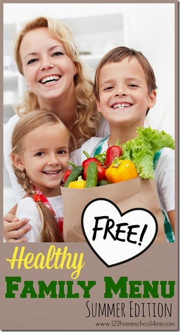 free Healthy meal Planner for families #mealplanner #recips