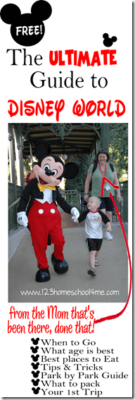 Ultimate Guide to Disney World FREE