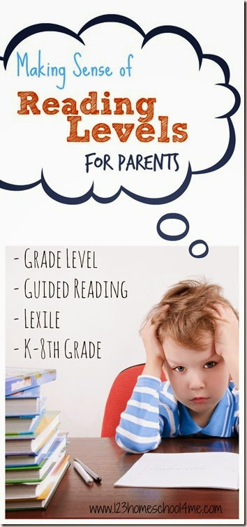 Anyone else completely confused by reading levels? There are guided reading levels, Lexile numbers, and Book Levels like the library uses. I found this especially confusing when my kindergarten and grade 1 students were beginning to read. I assumed you just get a beginner reader, but guess what - it's NOT that easy! Many beginner readers are actually for 3rd graders! YIKES! Don't worry, I can explain reading levels, give you book recommendations by grade, and take all the work out of finding your child the best books to read by reading level!