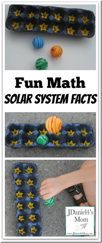 Fun Math Solar System Facts from JDaniel4's Mom
