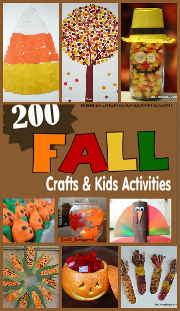 200 fall crafts and kids activities