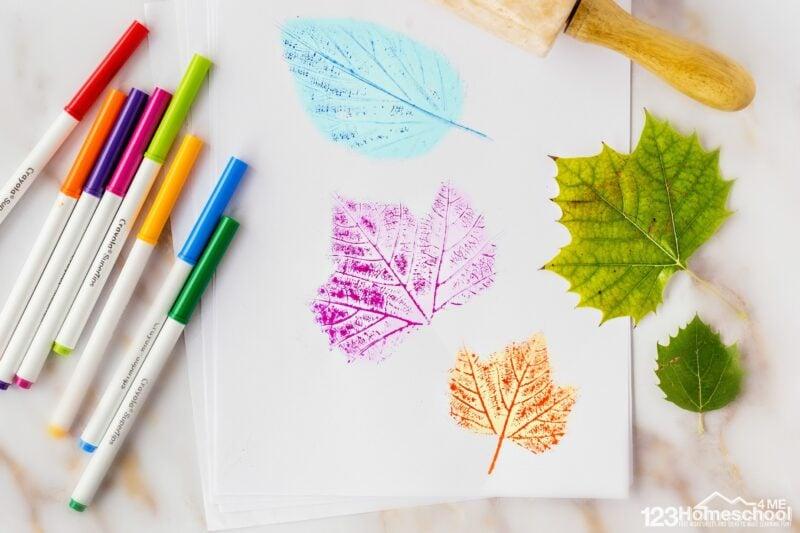 super cute, easy and fun to make Leaf Craft Ideas