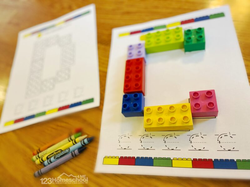 super cute, Lego Alphabet Letters Printable for toddlers, preschoolers, kindergarteners, and first graders