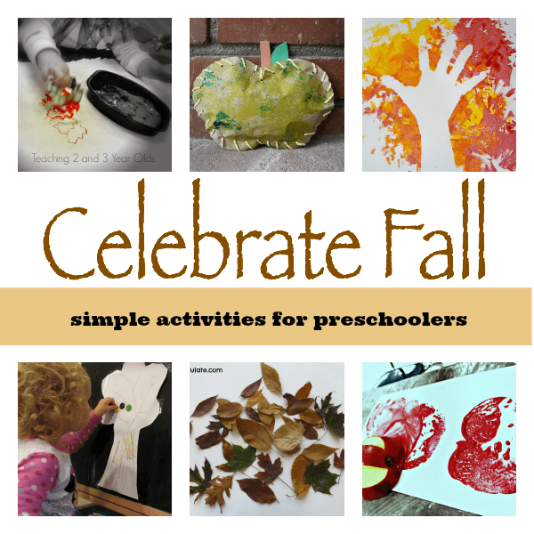 Simple Fall Activities for Toddlers and Preschoolers #preschool #fall