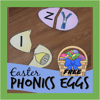 easter phonics eggs