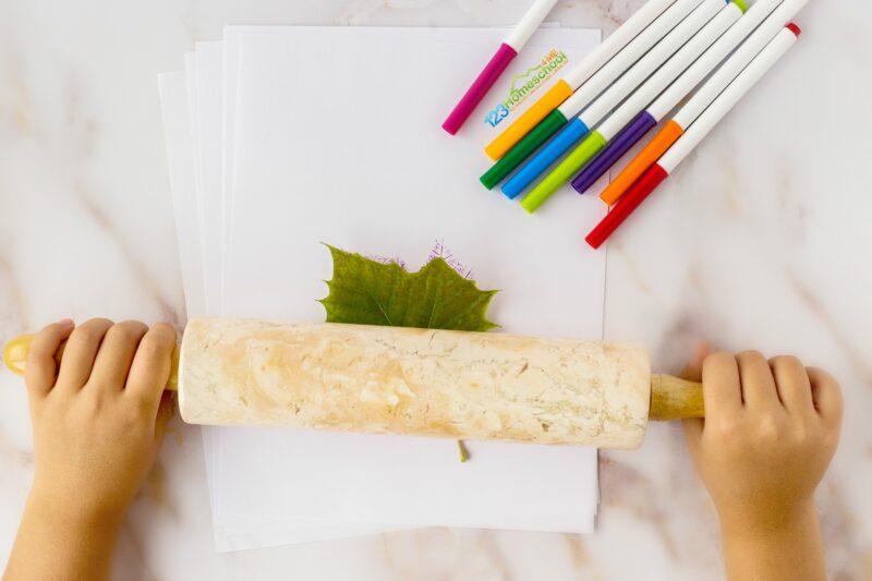 easy leaf craft for kids