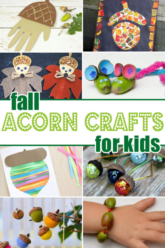 acorn crafts for kids