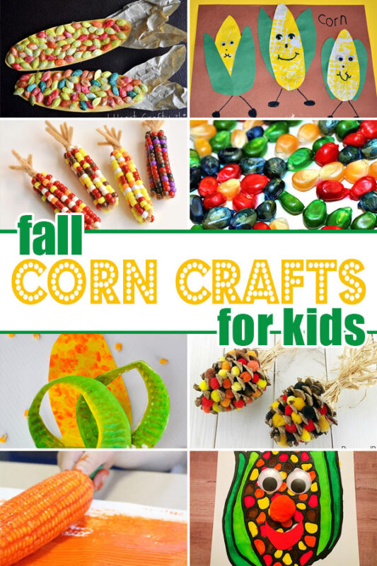 Corn crafts for kids
