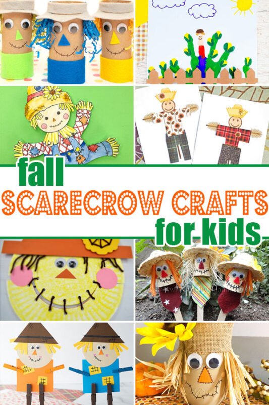 Scarecrow Crafts for kids