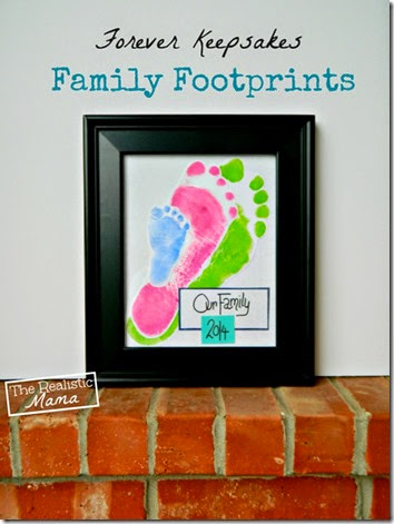 Family Keepsake Art  #familyfun #craftsforkids #preschool