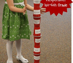 Tower Stack Bible Verse Review Game