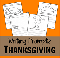 Thanksgiving Writing Prompts