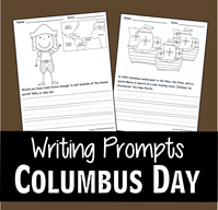 Columbus Day Writing Prompts