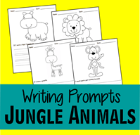 Jungle Animal Writing Prompts