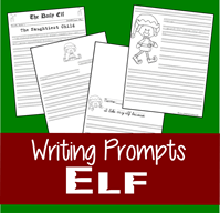 Elf on the Shelf Writing Prompts