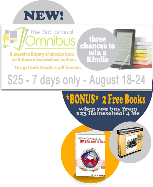 Homeschool Omnibus 2014 has over 80 ebooks filled with homeschool, parenting, and preschool materials for only $25