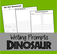 Dinosaur Writing Prompts