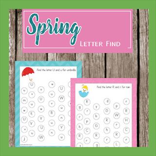 Spring Letter Find