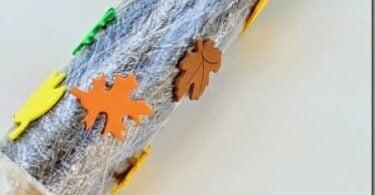 Fall Leaf Printing for Kids