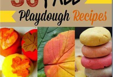 Fall Playdough Recipes