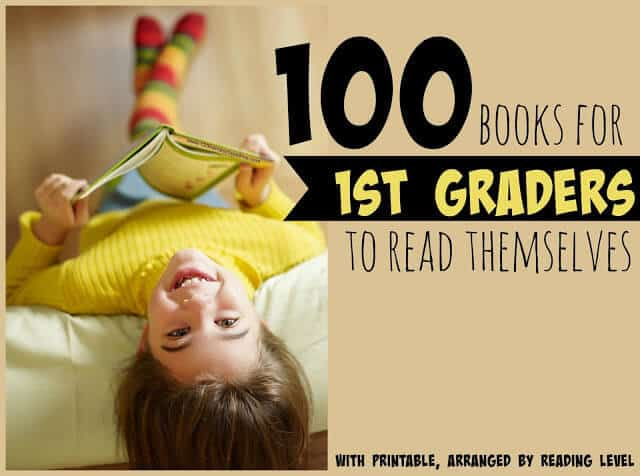 Looking for a great 1st Grade Book List? You will love this this of first grade reading books arranged by reading level!