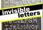 Invisible Letters Alphabet Activity
